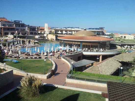Atlantica Sensatori Resort Crete: View from balcony