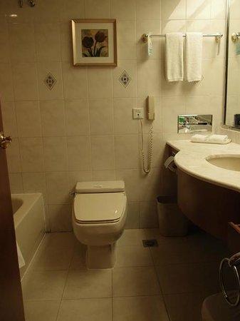 ชางชา ดอลตันรีสอร์ทโฮเต็ล: バス・トイレです。