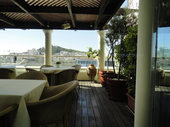 Hera Hotel : The roof terrace
