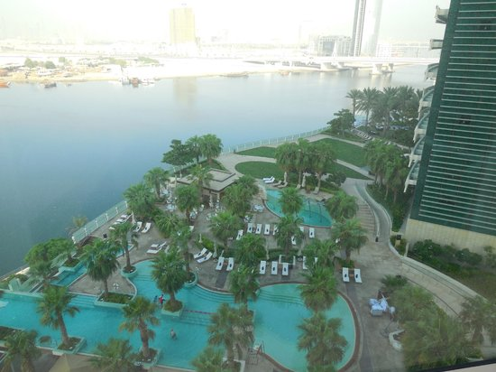 InterContinental Dubai Festival City: View from our room