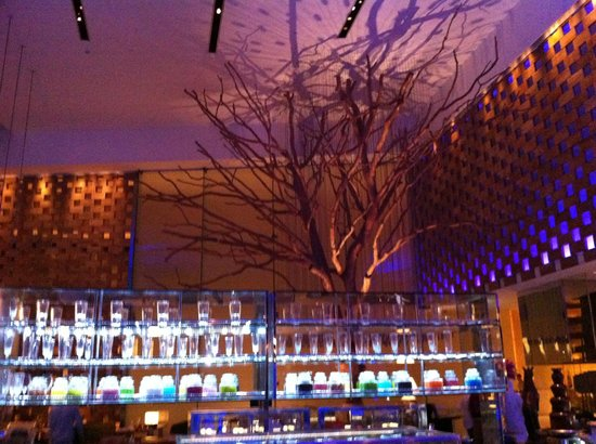 InterContinental Dubai Festival City: The hotel restaurant