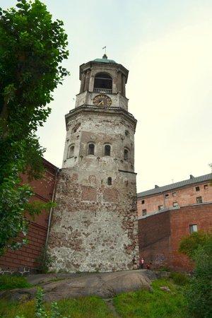 Clock Tower: Часовая башня со двора, рядом с кафедральным собором.