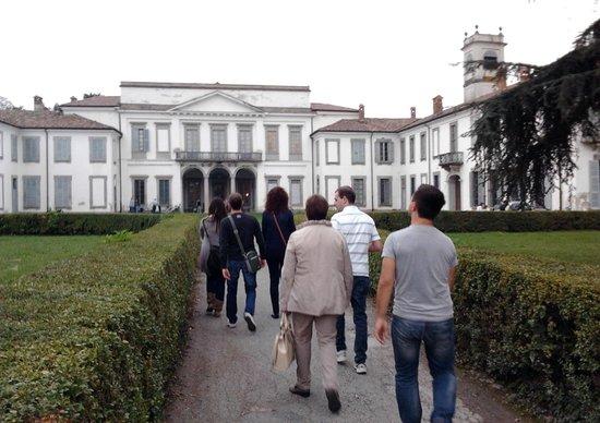 Villa Mirabello: facciata della villa