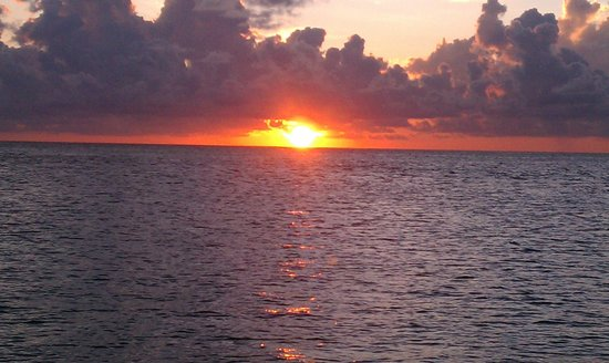 The Overseas Highway: Key West sunset
