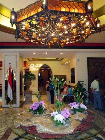 Shepheard Hotel: entrance hall