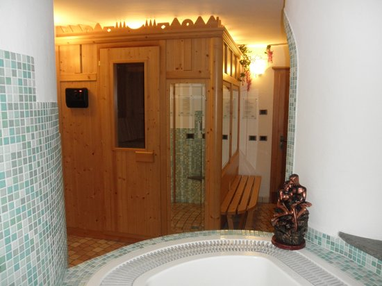 Garni Stella Alpina: Sauna