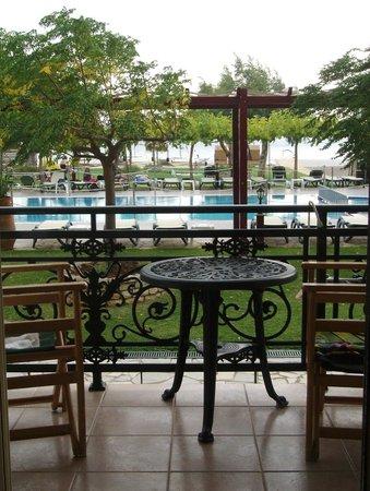 Portofico Hotel: Blick aus dem Zimmer