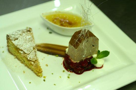 Hotel Restaurant Urweider : Dessertvariation