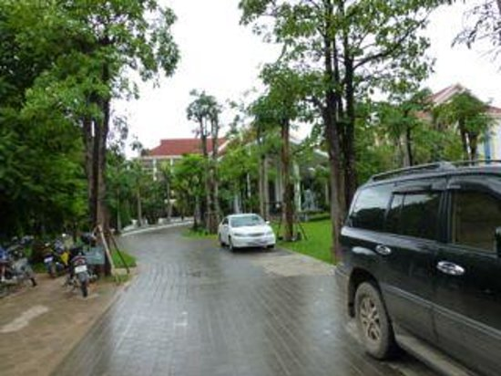 Borei Angkor Resort & Spa: It's located down a private lane