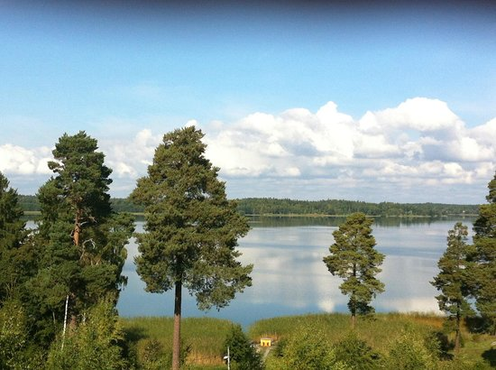 Sastaholm Hotell & Konferens : View over the lake