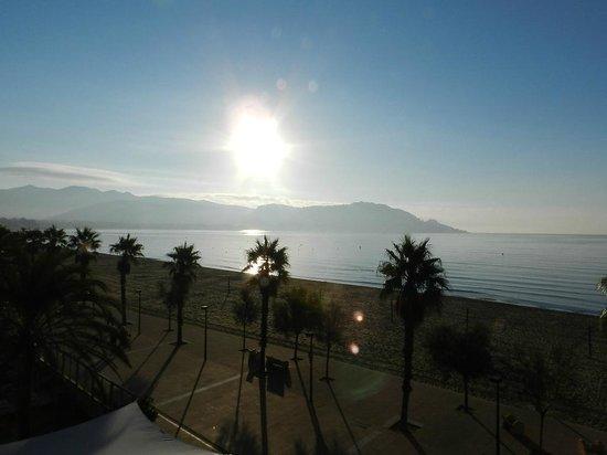 Hotel Monterrey: Levée du soleil