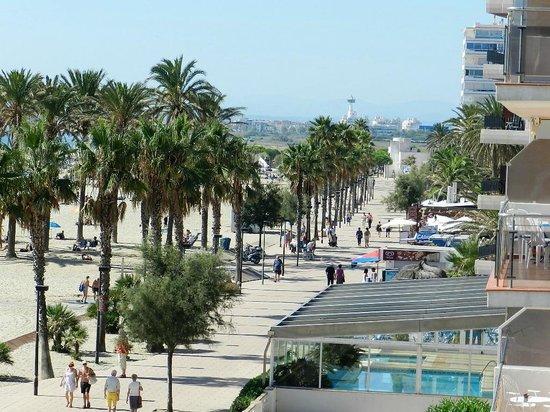 Hotel Monterrey : le paséo vers la Marina