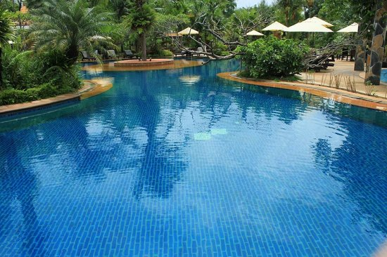 Hotspring Beach Resort & Spa: Pools with hot water in Hotsprin Beach Resort