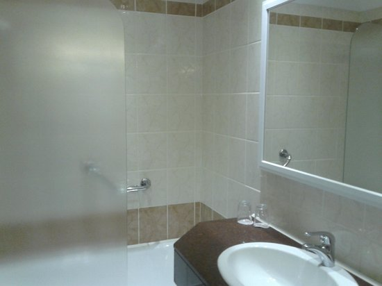 Asterias Beach Hotel: bagno