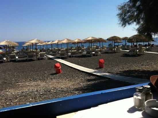 La Mer Deluxe Hotel, Spa Resort & Conference Center : Kamari Beach