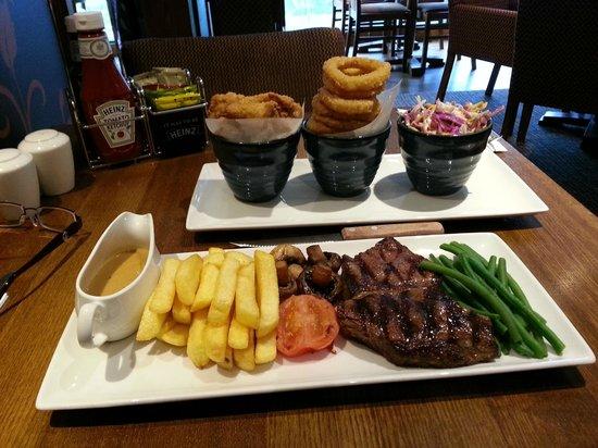Premier Inn Bradford Central Hotel : Excellent Food!