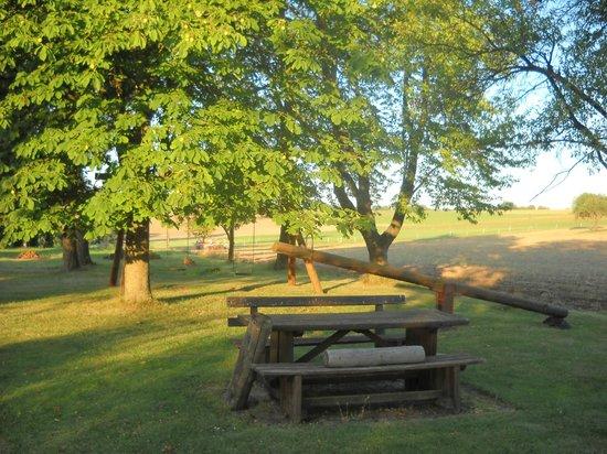 Hasselberg, Germany: Playground for children