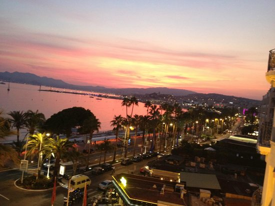 Grand Hyatt Cannes Hotel Martinez: Vue