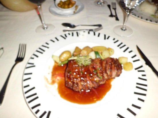 Hotel Villa Guadalupe: Dinner !