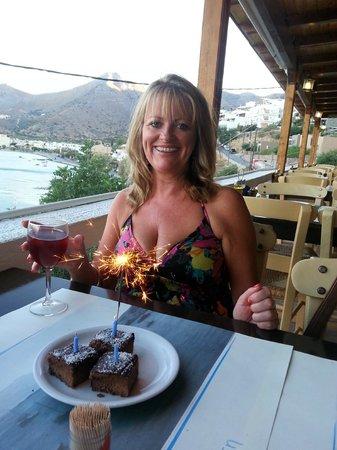 Despina Taverna: birthday treat