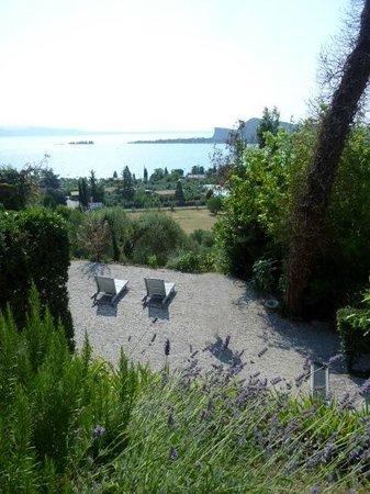 Hotel Villa Schindler : Blick auf den See