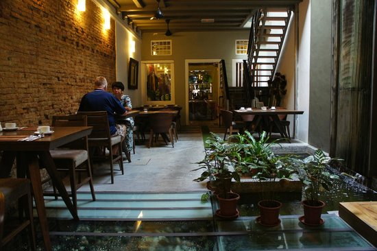 Courtyard @ Heeren Boutique Hotel : Breakfast Place