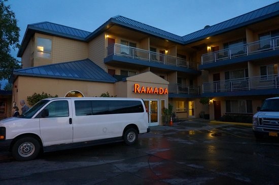 Ramada Anchorage: The external view of Ramada Inn