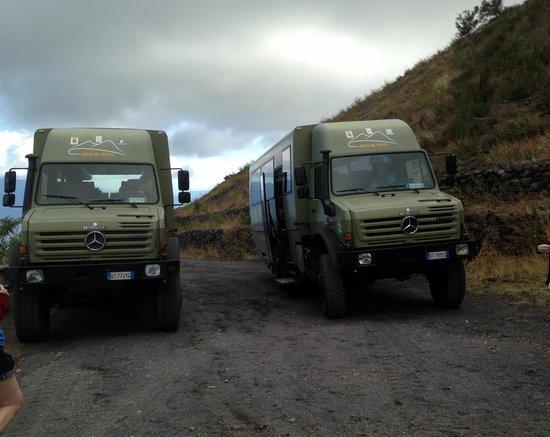 Vesuvio: Autobus 4x4