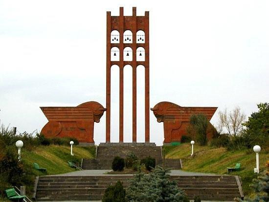 Araks, Armenia: Memorial complex of Sardarapat Battle
