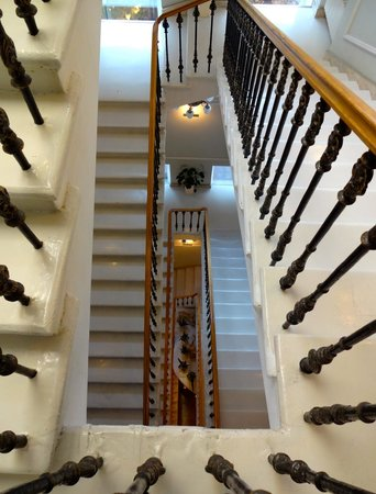 the amazing staircase.