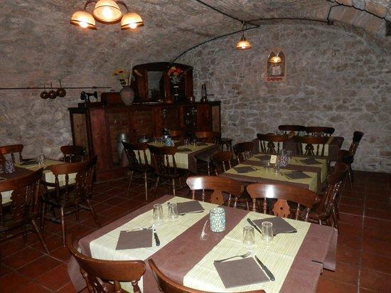 Locanda del Vecchio Maglio: Sala Pizzeria