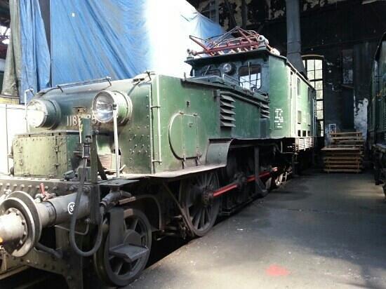 Das Heizhaus Eisenbahnmuseum Strasshof: 1189.05 cocodrillo
