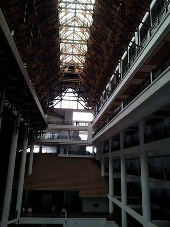 Resorts World Kijal: main Lobby roof area