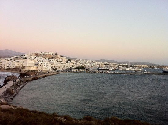 Naxos City, Yunani: Old Town