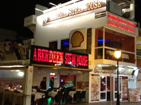 Aberdeen Steak House, Corralejo