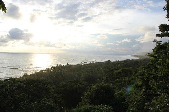 Pachamama Tropical Garden Lodge: Aussichtsplattform