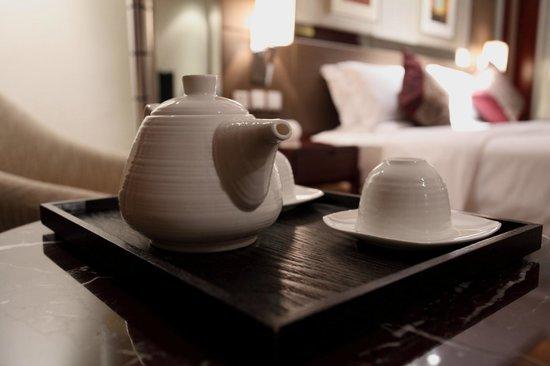 Vision Hotel: Tea pot
