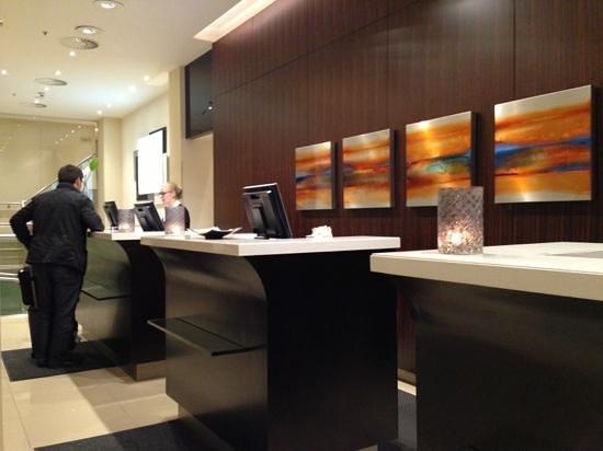 Renaissance Amsterdam Hotel: reception