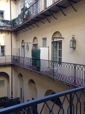 Palazzo Galletti: la cour intérieure