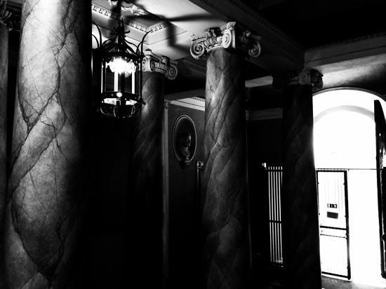 Palazzo Galletti : l'entrée