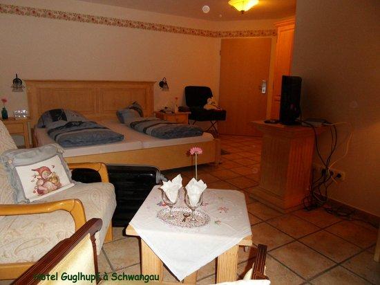 Landhotel Guglhupf: Notre chambre