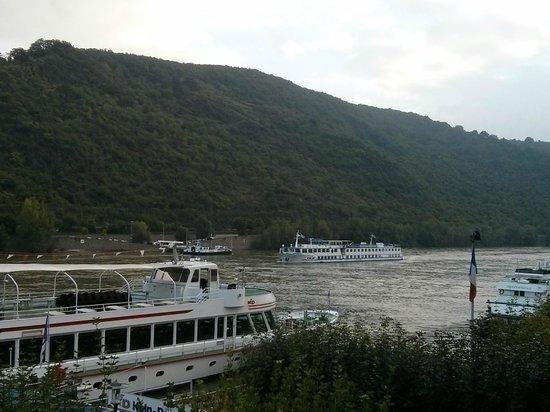 Baudobriga Rheinhotel: View from balcony