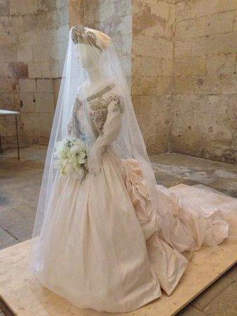 Abbaye de Montmajour : dame blanche
