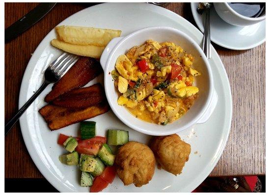 Westcoast Bar & Grill: Caribbean Breakfast