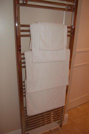 The Fisherbeck : heated towel rack