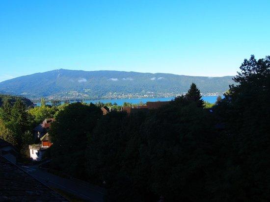 La Vallombreuse: view from the attic