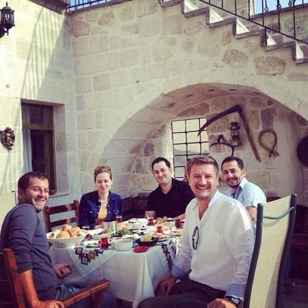Sinasos Palace Cave Hotel: harika kahvaltı