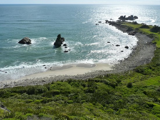 Cape Foulwind Walkway: The view from Cape Foulwind.