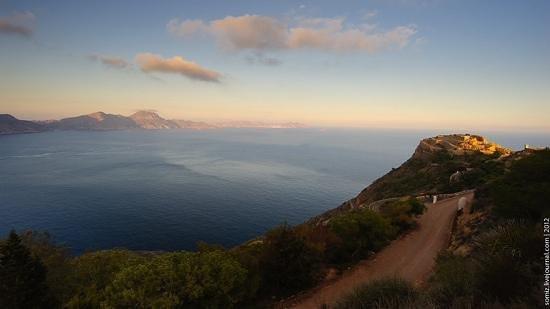 Batería de Castillitos: Sunset at Cabo Tiñoso