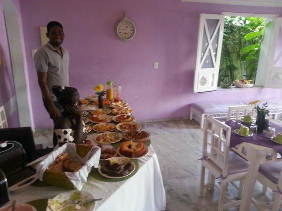Hotel Pousada Papaya Verde: Emerson da Pousada